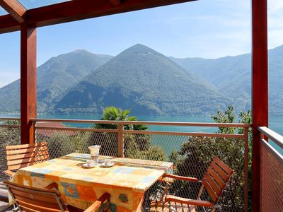 Photo for Apartment Residence Aurora  in CIMA (CO), Lake Lugano - 6 persons, 3 bedrooms