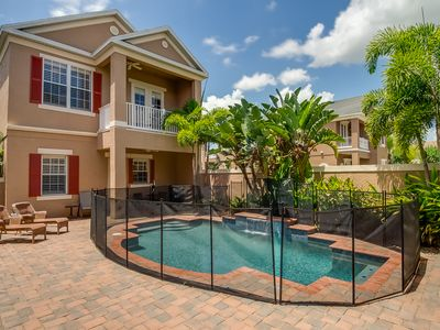 Photo for Reunion home with beautiful views of Golf Course- Private Courtyard Pool