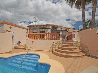 Photo for 'Pequeno Nido', our beautiful villa in Moraira, private pool, beach 5 mins walk