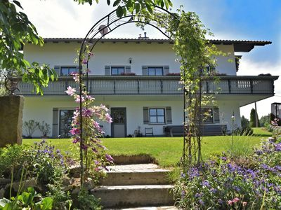 Photo for Beautiful ground floor flat with private terrace in the Bavarian Forest