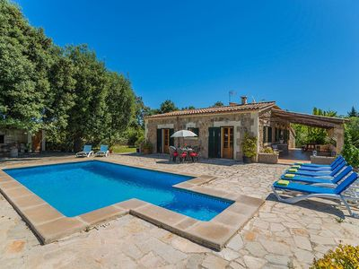 Photo for The beautiful Finca TORRES NOU is placed in nice sourroundings and five minutes