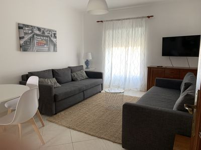Photo for T1 w / fiber wifi. Smart TV, private parking at 200m beach
