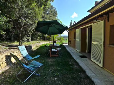 Photo for Pretty and spacious house between Bibbona and Bolgheri, in the Tuscan countryside, wifi and A. C