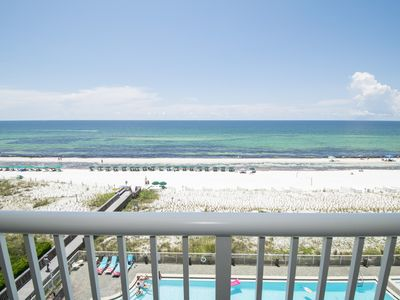 Photo for Professionally Designed Top-Floor Beachfront Condo with Ocean View: WE612