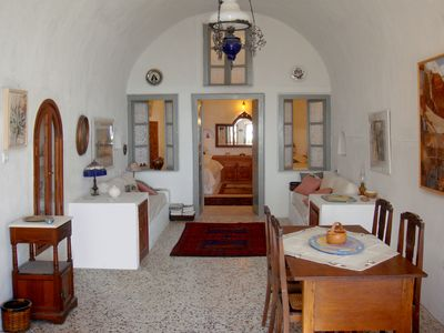 Photo for Artist's Traditional 1800's Cave House.   Authentic, Private & Quiet