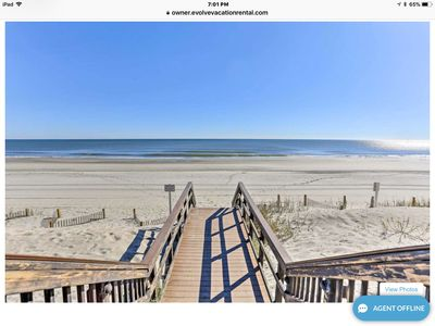 Photo for Myrtle Beach Resorts Two Bed Two Bath 1st floor snow birds winter rental welcome
