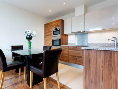 Photo for Modern style 2 bed, 2 bathroom apartment in West London (Veeve)