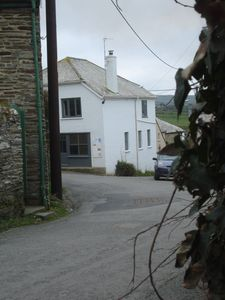 Photo for Holiday house in quiet village close to the best beach in North Cornwall