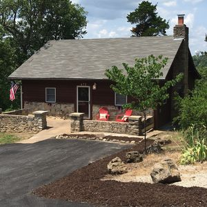 Photo for NEW LISTING! Beautiful Private Cabin on 5-Acres...Minutes to Branson Landing