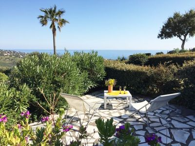 Photo for Saint-Peire-sur-Mer Apartment, Sleeps 6 with Pool and WiFi