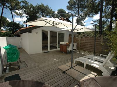 Photo for Nice and comfortable apartment 30 m2  (max. 2 pers.) in Biscarrosse-Plage.
