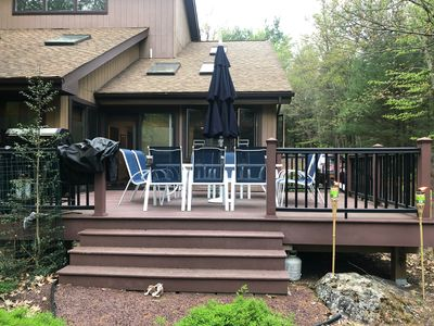 Photo for Stunning Large Updated Home in  Lake Naomi  with a Stream in the backyard