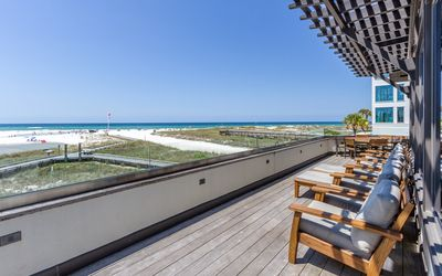 Photo for Atypical - Gulf Front Home in Historic Grayton Beach with 5. beach cruisers.