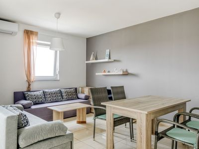 Photo for Contemporary Apartment in Novalja with Barbecue