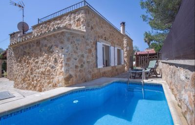 Photo for LOVELY & COZY VILLA with private pool, A/C, Wi-Fi & BBQ next to Port Adriano