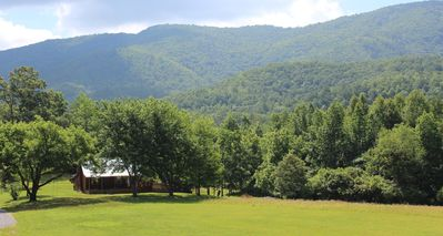 Photo for Modern Rustic Cabin on 5 acres in Cherokee National with amazing mountain Views!
