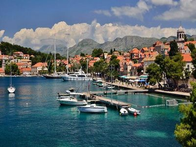 Photo for Holiday apartment Cavtat for 4 persons with 2 bedrooms - Holiday apartment in a two family house