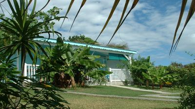 Photo for Bungalow Cocodile adjoining Ste Anne Guadeloupe