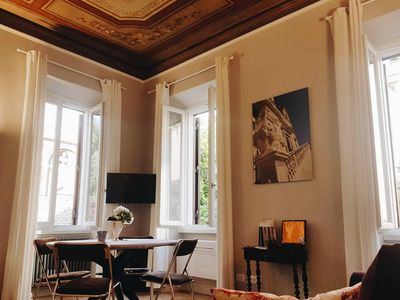 Photo for Margutta Delux II is a luxury apartment close to Spanish steps, first floor 1 bedroom sleeps up to 4
