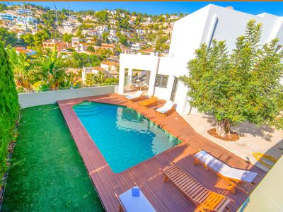 Photo for Vacation home Villa Bianca in Benissa - 8 persons, 4 bedrooms