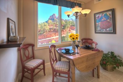Dining Area With Pottery Barn Table & Seating
