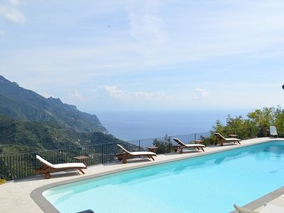 Photo for CHARMING VILLA in Ravello with Pool & Wifi. **Up to $-2637 USD off - limited time** We respond 24/7