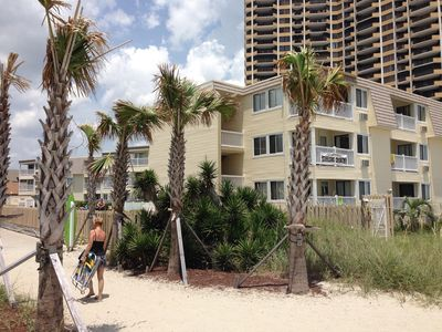 Photo for Smiles Welcome! Safe, Beachfront, Family Friendly, Quiet & Great Reviews!