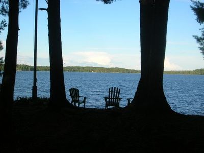 Photo for Stunning Point Views On Prime Lake Muskoka Location