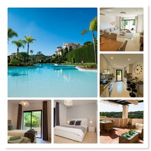 Photo for Luxury apartment 4 pers, quiet location with golf view, near Puerto Banus