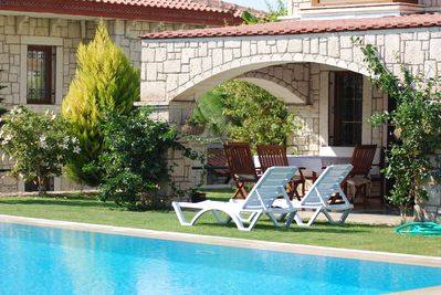 pool & villa view, Alacati