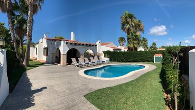 Photo for VILLA FOR MAX. 8 PEOPLE IN CAP D´ARTRUITX
