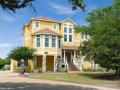 Photo for Il Destino: 6 BR / 6 BA house in Corolla, Sleeps 16