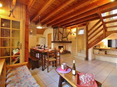 Photo for Chalet CAUTERETS, 10 people, 5 bedrooms, 200 m from the center, 400 m from the ski lift