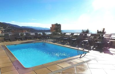 Photo for Beautiful apartment in a secure residence 50 meters from Monaco!