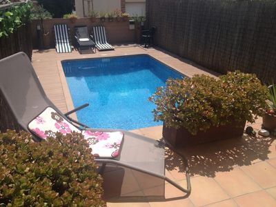 Photo for Townhouse with private pool and close to the beach