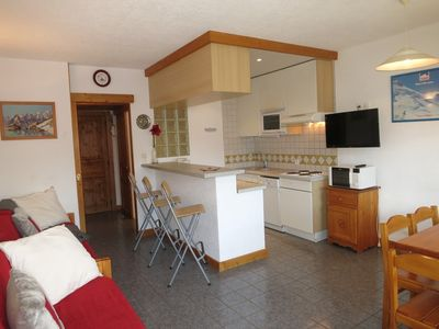 Photo for NICE 2 ROOMS FOR 6 PERSONS IN TIGNES LE LAC, SOUTH-EAST FACING - BEC ROUGE 732