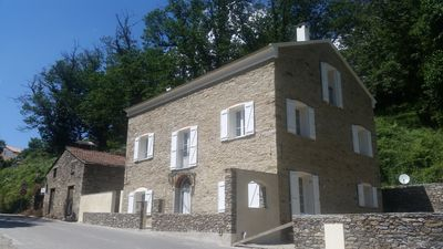Photo for Beautiful family home in dry stones, completely renovated, on 2 floors