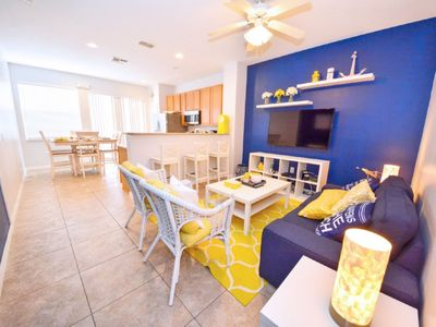 Photo for 3 Bedroom Townhome In Crestwynd Bay, Sleeps Up To 7, Just 2 Miles To Disney