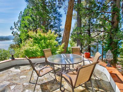Photo for NEW LISTING! Lakefront home w/ gorgeous lake views, boat slip & beach access!