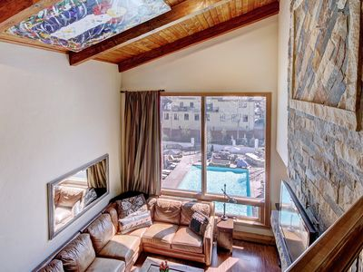 Photo for Luxury 3 Br Condo at The Lodge at Vail w/ Gym, Pool, Hot Tub