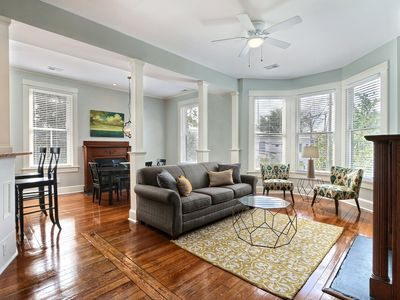 """Photo for Rest Well with Southern Belle Vacation Rentals at """"Lafayette Row Unit 2"""""""