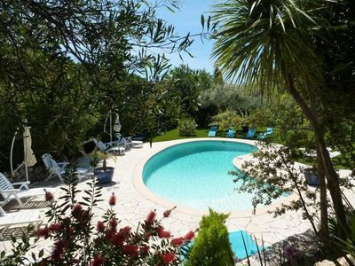Photo for Magnificent Top VILLA (200m2) in DEAD CALM, SWIMMING POOL, SEA 300 m