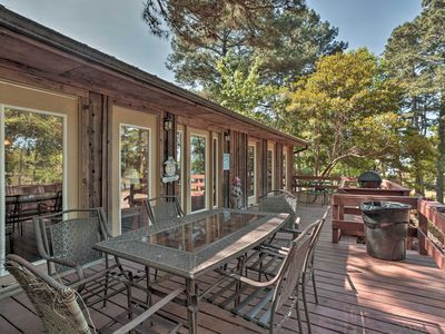 Photo for Quiet Toledo Bend Lake Cabin w/Dock & Pier Access