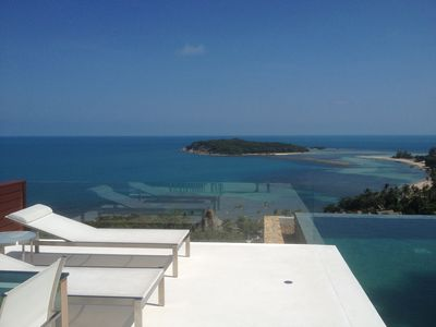 Photo for Luxury 3BR Villa, Amazing Ocean View, Private Staff