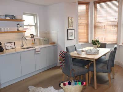 Photo for A beautiful apartment in Blakeney, close to the quay. Sleeps 5. Family friendly.