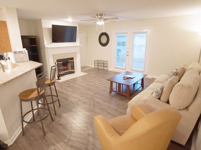 Photo for Newly Renovated Ground Floor Condo! Close to Mayo, Beaches, Town Center.