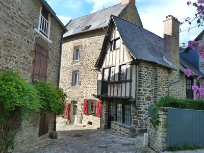 Photo for Logis Located in the port of Dinan: walking, canoeing, sea relaxing