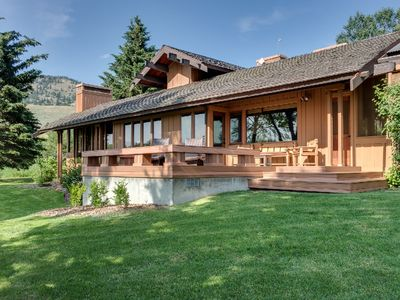 Photo for Green Mountain Ranch - Impeccable Custom Home on 2000 Acre Working Ranch