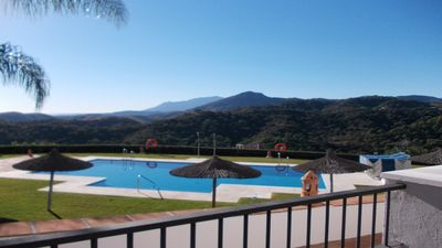 Photo for Superb sea view - Los Arqueros Golf near Puerto Banus -Marbella