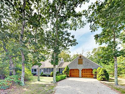 Photo for 5BR Eastham Home w/ Expansive Deck & Yard - Near Nauset Light Beach